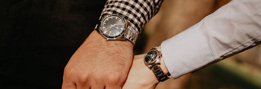 Montres de luxe pour hommes et femmes